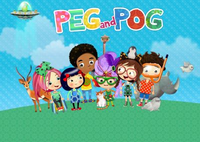 Peg and Pog children's app
