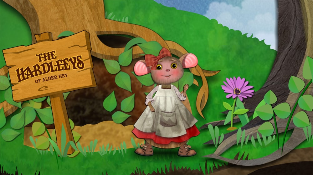 Florence mouse illustration