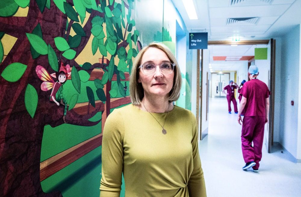 Alder Hey Hospital corridor artwork