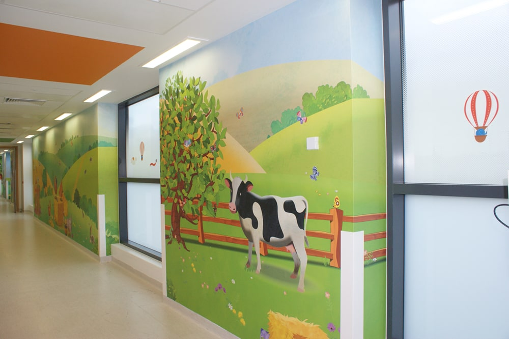 Cow corridor artwork