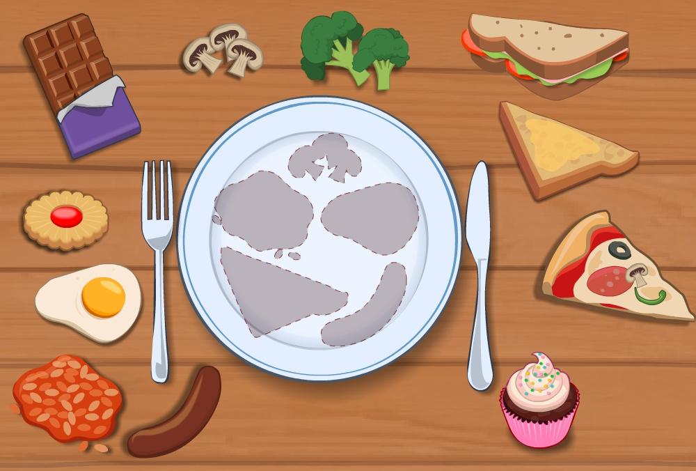 Breakfast - app illustration
