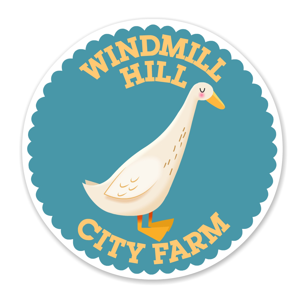 City Farm duck badge - Luella Jane