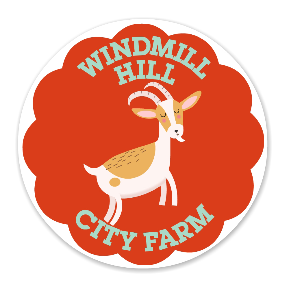 City Farm Goat Badge - Luella Wright