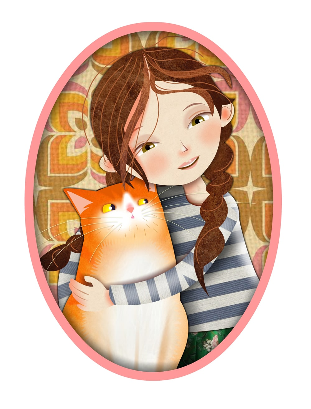 Best Friends illustration - Luella Jane