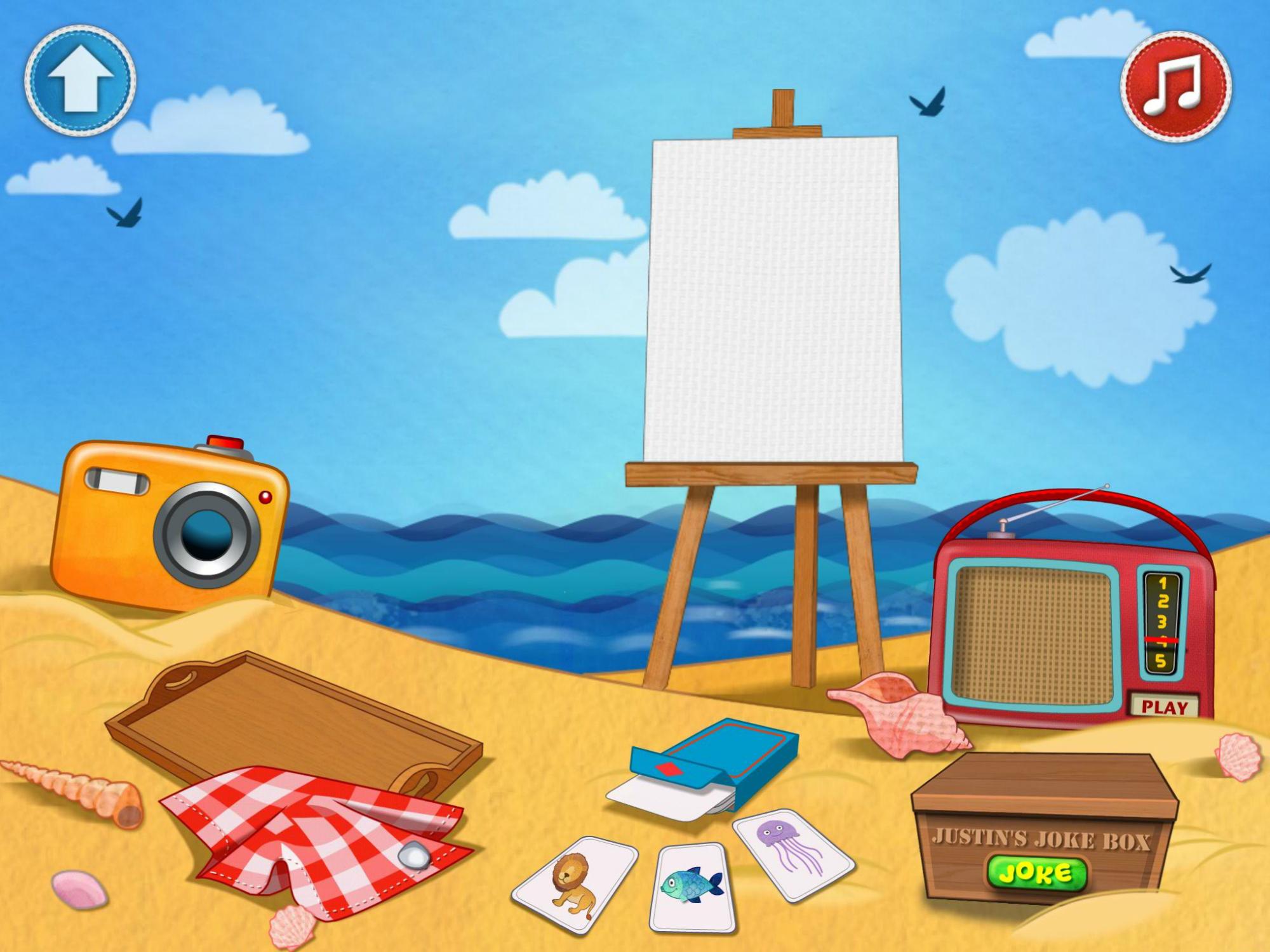 Seaside - app illustration