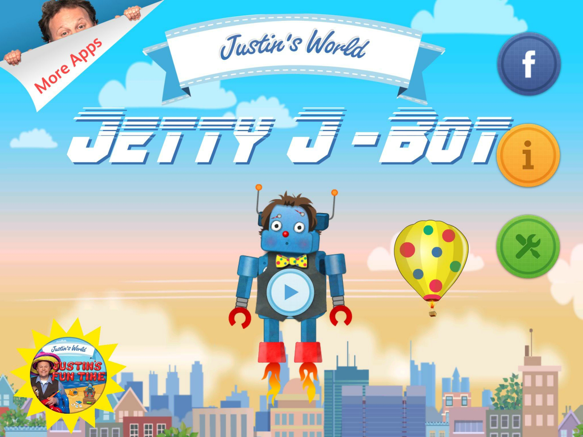 Jetty J-Bot - app illustration