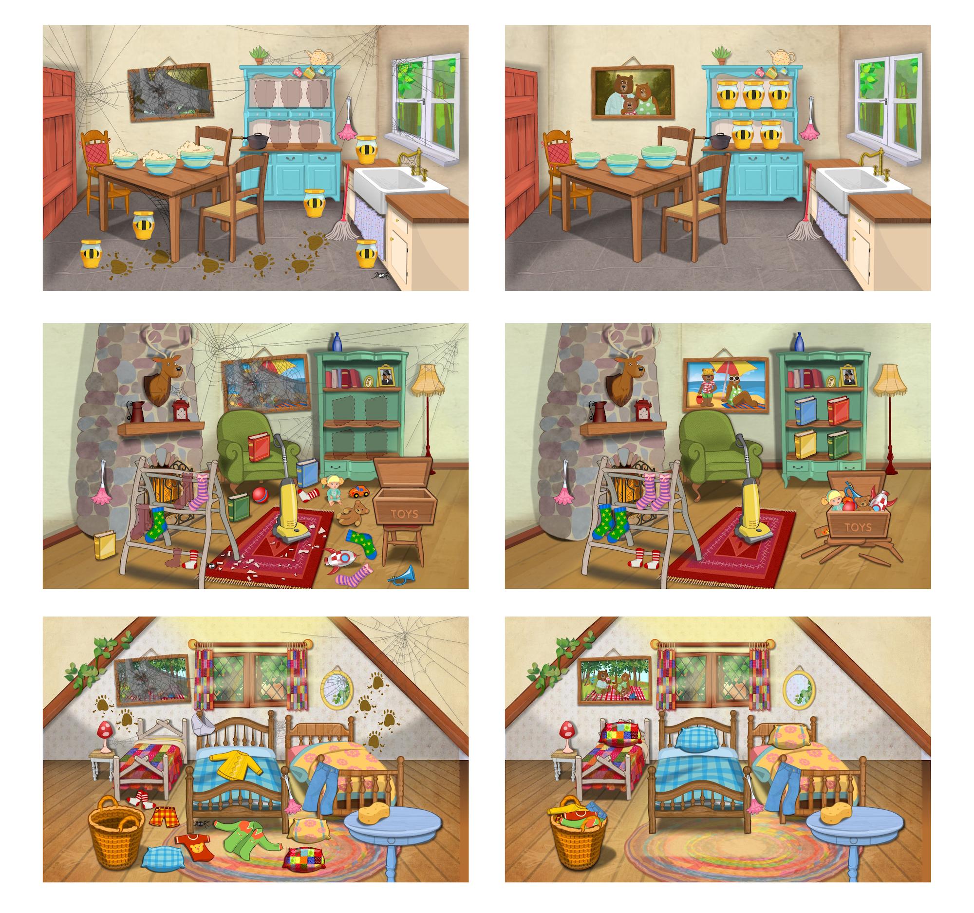 Rooms - app illustration