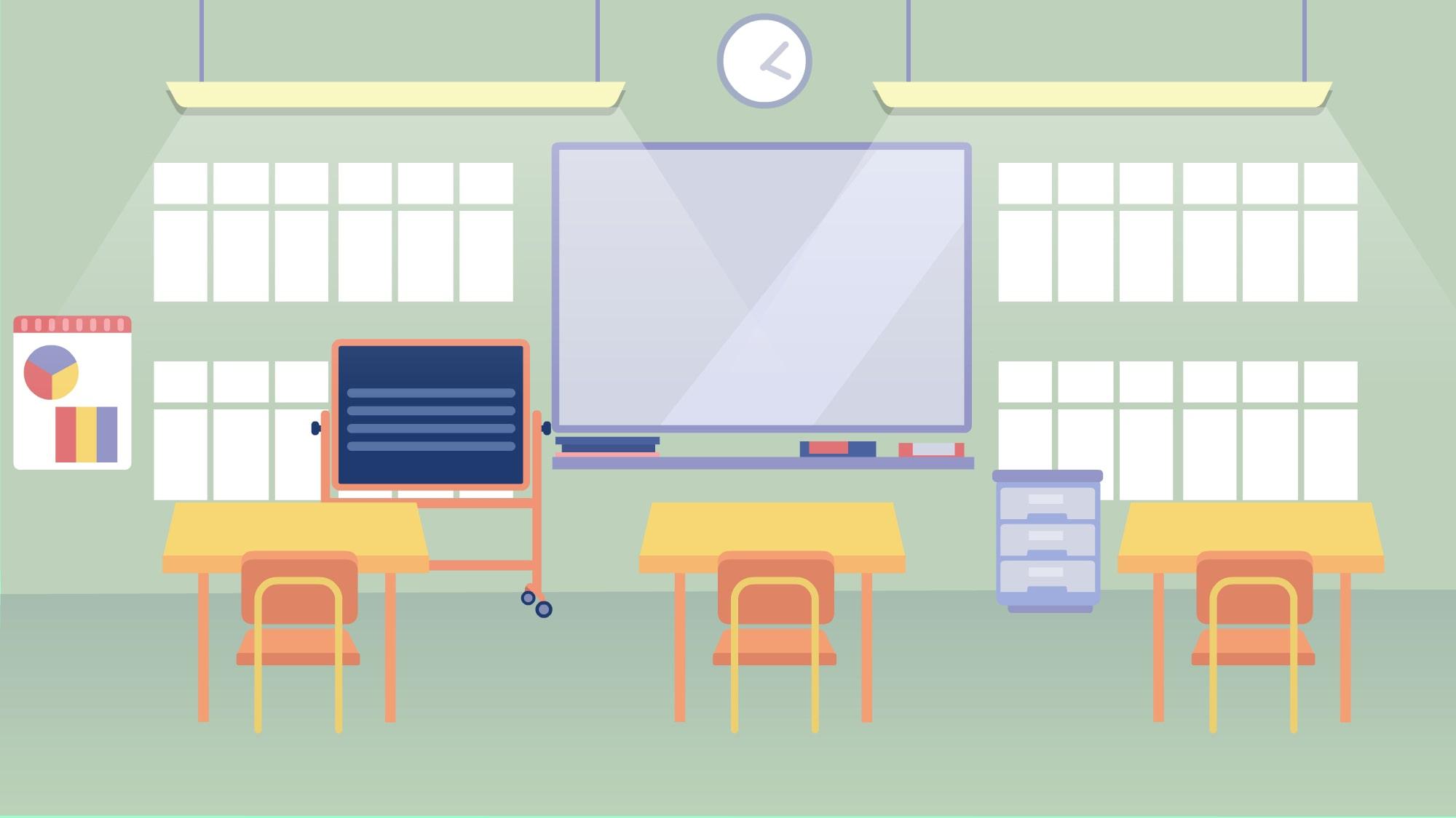 School illustration for a film